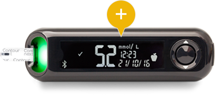 CONTOUR® NEXT ONE meter and DIABETES app